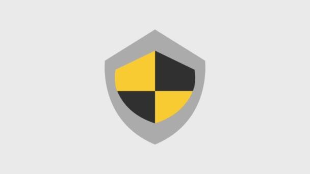 pajzs védelem ikonok