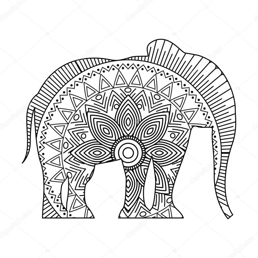 Ausgezeichnet Malvorlagen Elefanten Stammes Zeitgenössisch - Entry ...