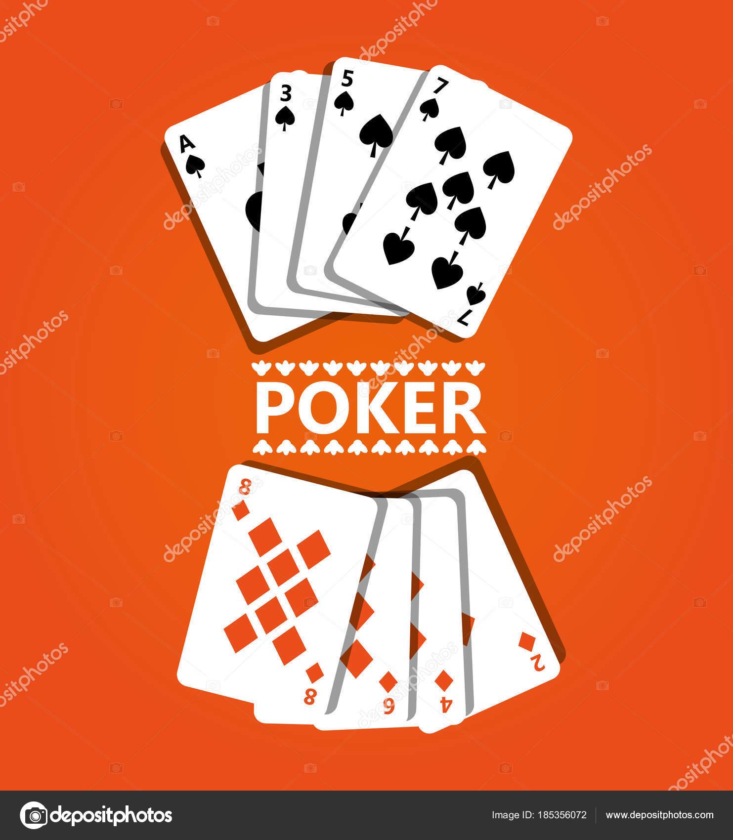 Diseno Cartas De Juego Cartas De Poker Diseno Y Concepto De Juego