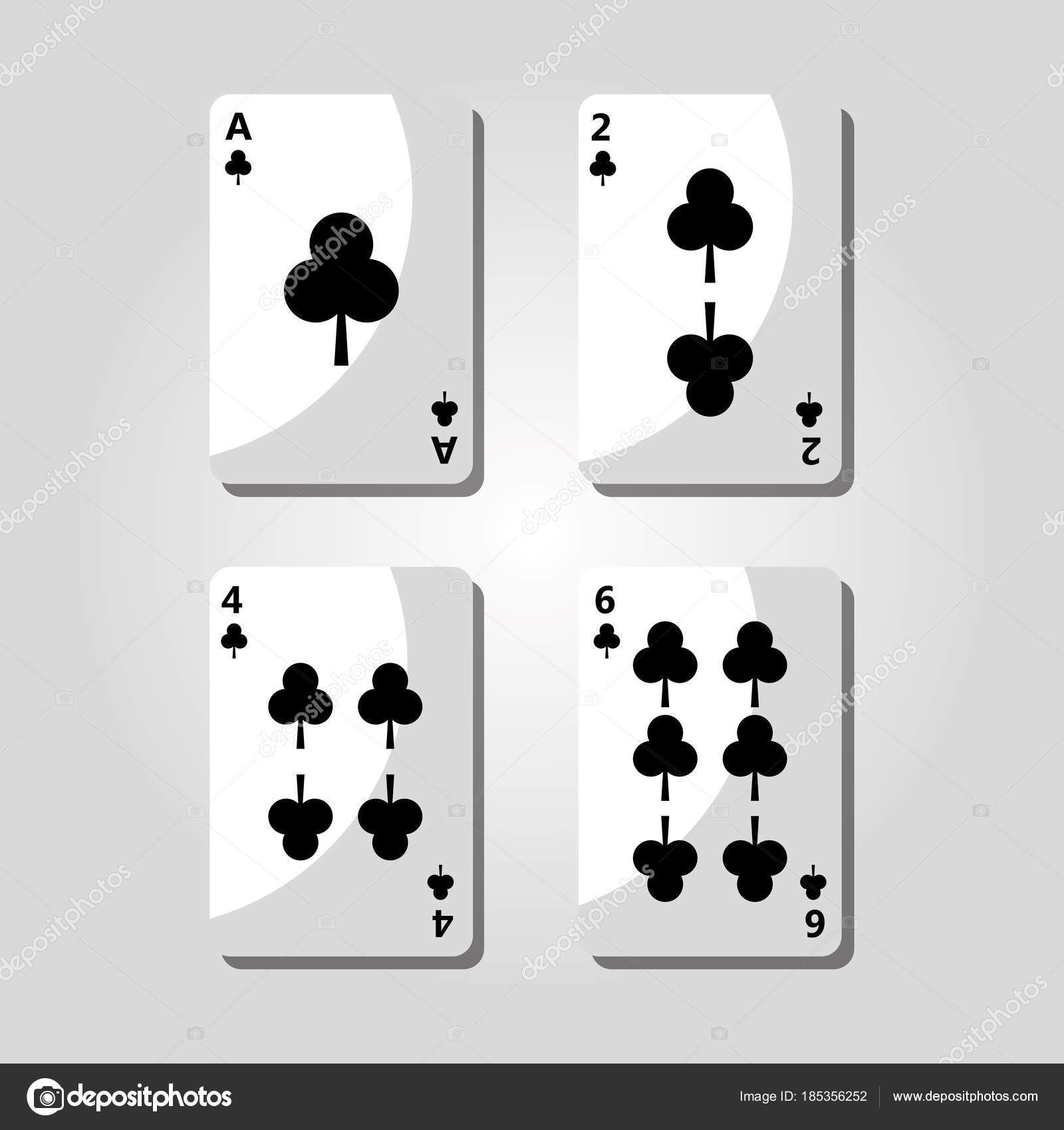 Imagenes Trebol De Poker Cartas De Trebol Poker Juego Icono De