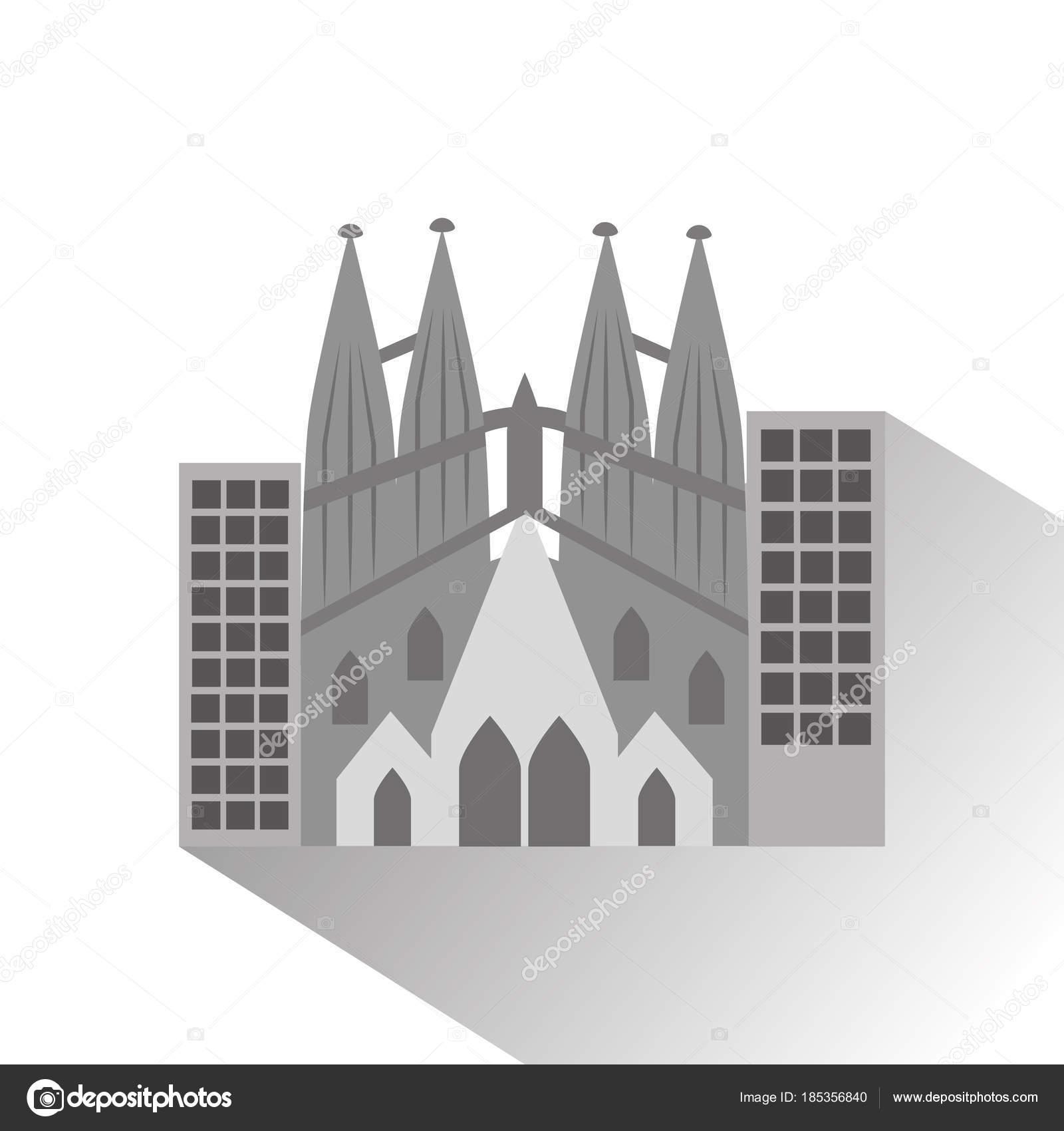Dibujos Animados De Gaudi Sagrada Familia Gaudi Basilica