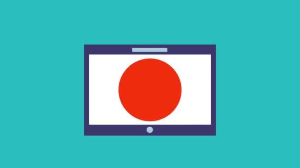 bezpečnostní zámek na ikon na obrazovce tabletu