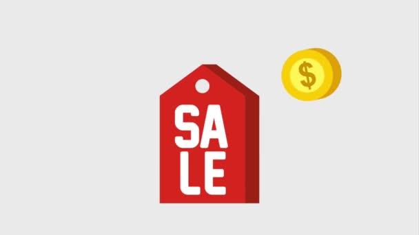 značku cena prodej padající mince