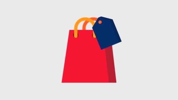 bevásárló táska, és a ár cédula