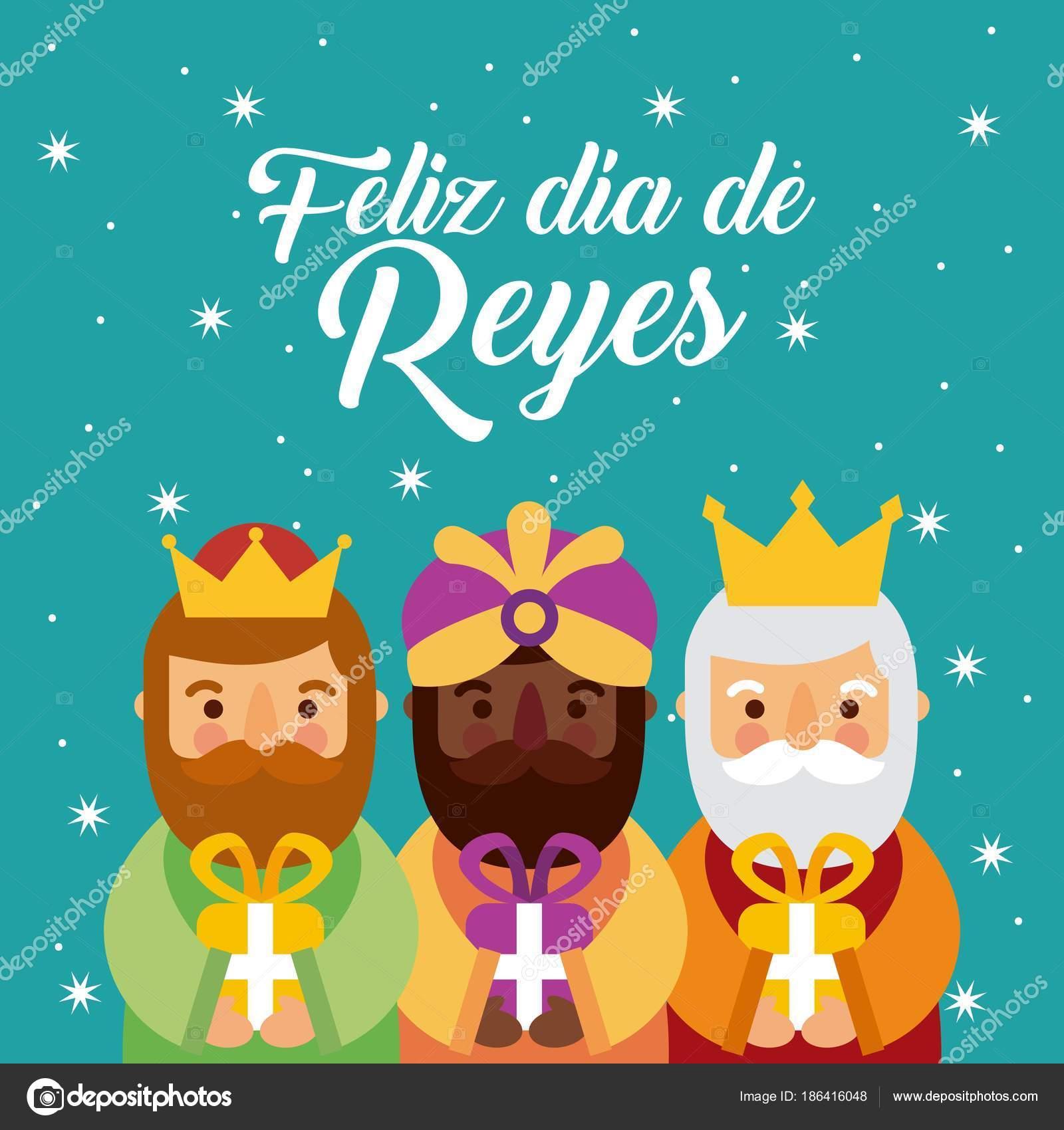Feliz dia de los reyes Kouzelná tři králové přináÅ¡ej dárky k