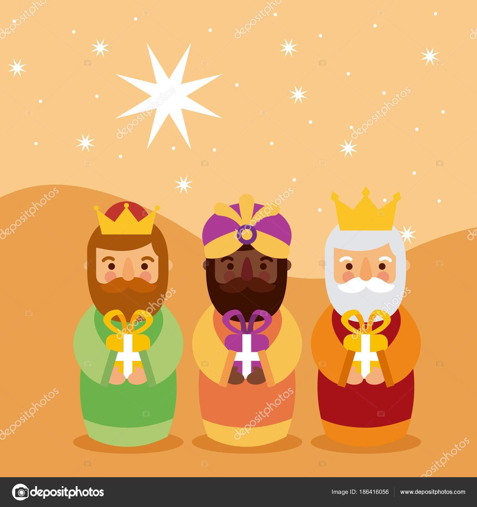 Feliz Dia De Reyes Fotos.Feliz Dia De Los Reyes Three Magic Kings Bring Presents To