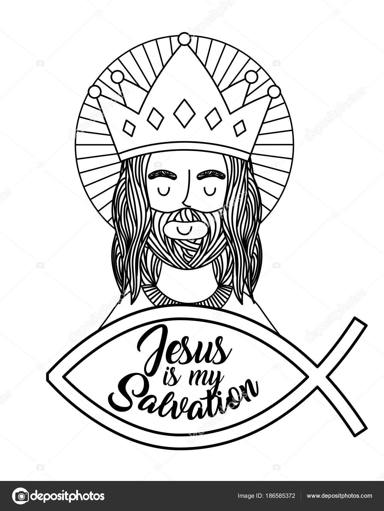 Imágenes Simbolos Religiosos Catolicos Para Colorear Tarjeta De
