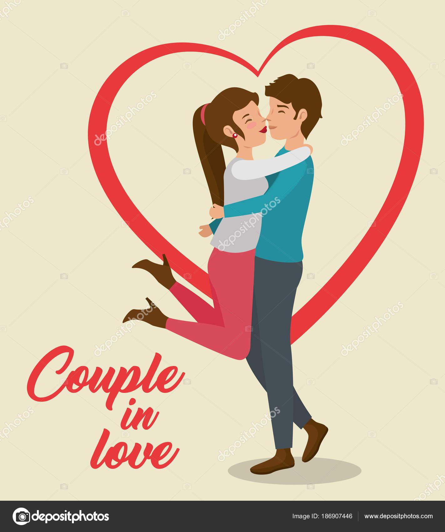 Dibujos Abrazos Romanticos A Lapiz Pareja De Diseno De Amor