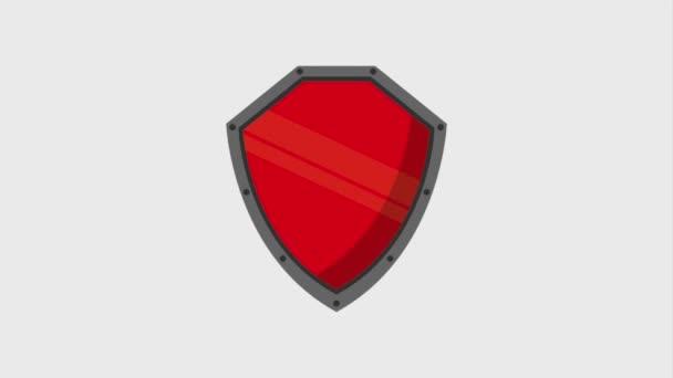 Cyber security technology animace hd
