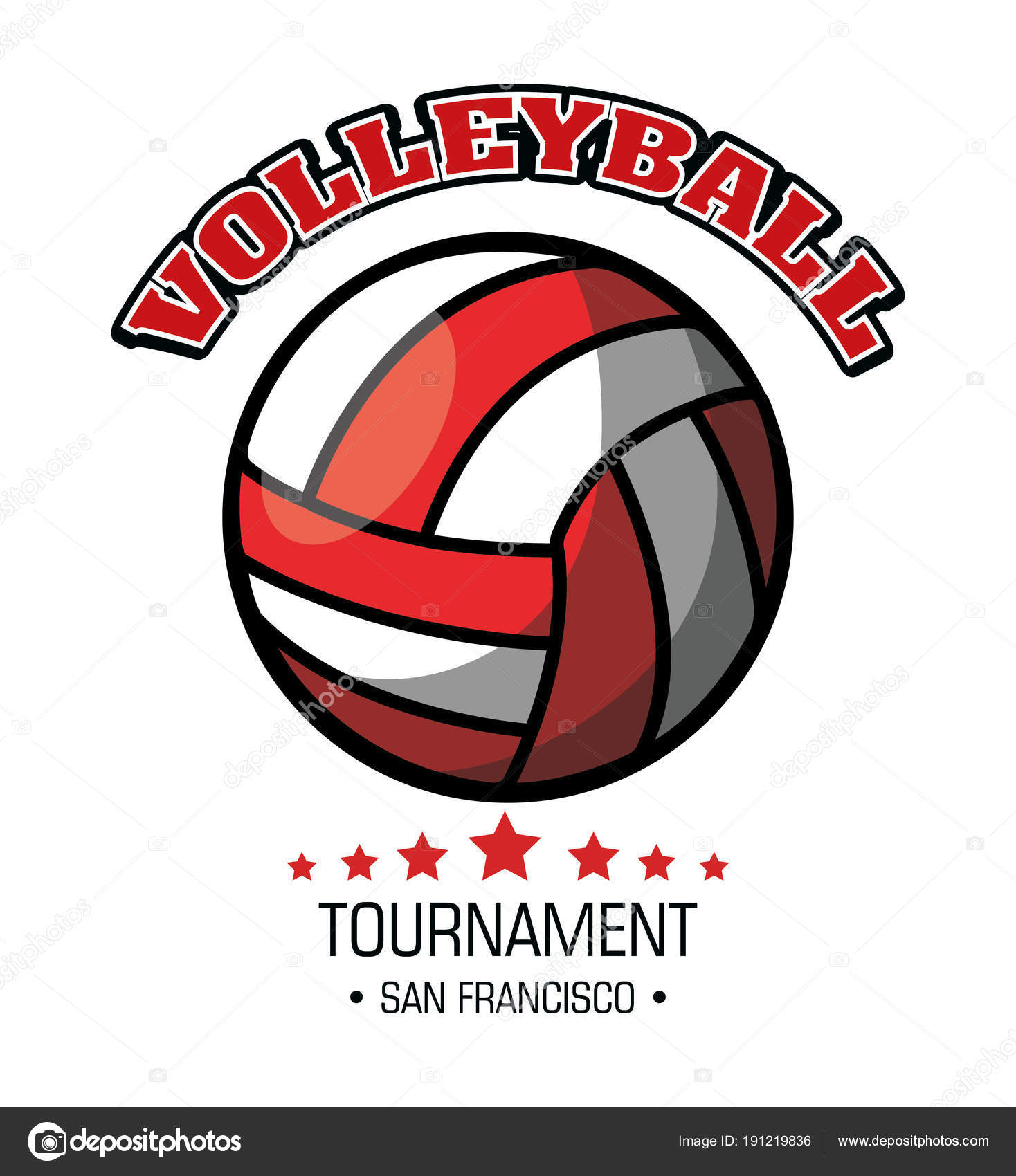 Fotos Voley Con Frases Emblema De Bola De Deporte De Voleibol
