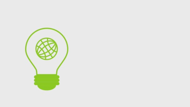 eco green energy animation