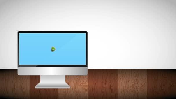 počítači štítu ochrany zaškrtnutí na obrazovce
