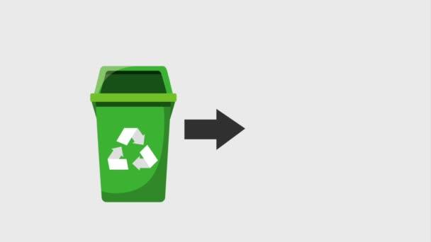 recyklovat ekologie koncept
