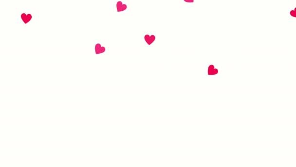 valentinky karta s milostným srdcem vzor
