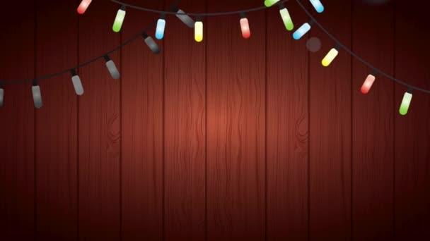 boldog boldog karácsonyt kártya fények színes izzók