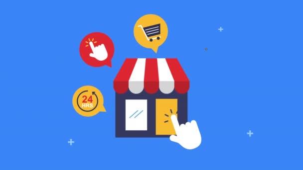 obchod s ikonami elektronického obchodu