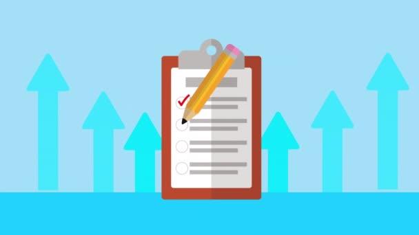 checklist clipboard with pencil icon
