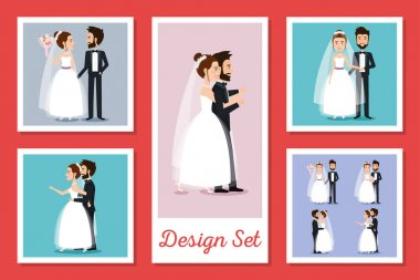 designs set of couples married