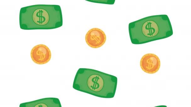 Geldscheine und Münzen Geld Finanzen