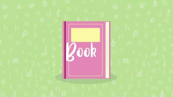 světová kniha den oslav s nápisy