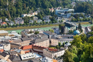 The old city of Salzburg, Austria