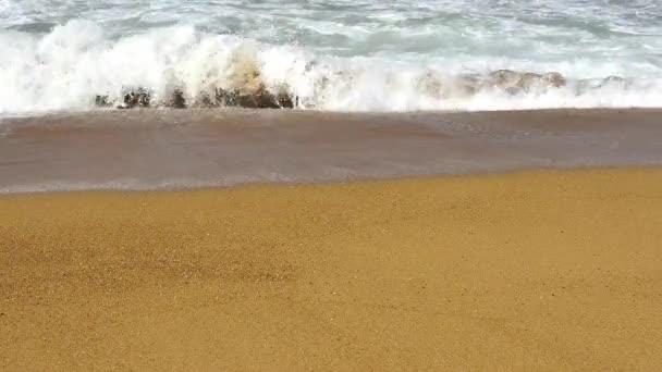 Video of Sand Atlantic Beach with ocean surf