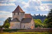 Vecchia chiesa romana nel sud della Francia