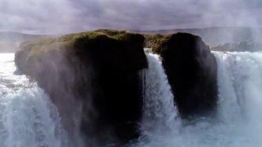 Amazing Godafoss waterfall in Iceland