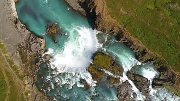 Úžasné Godafoss vodopád Islandu