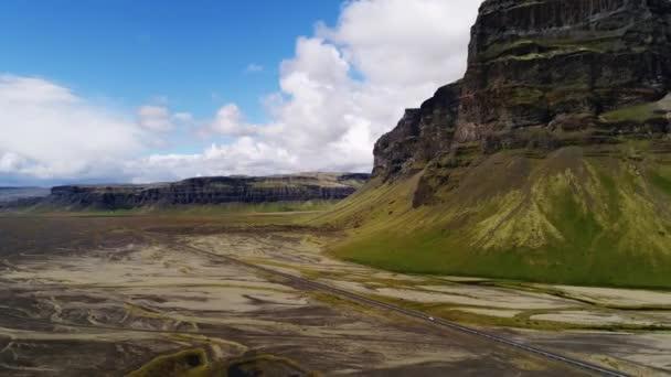 jokulsarlon gleccser környéke, izlandi táj, 4k