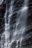 Wasserfall huk in den Karpaten