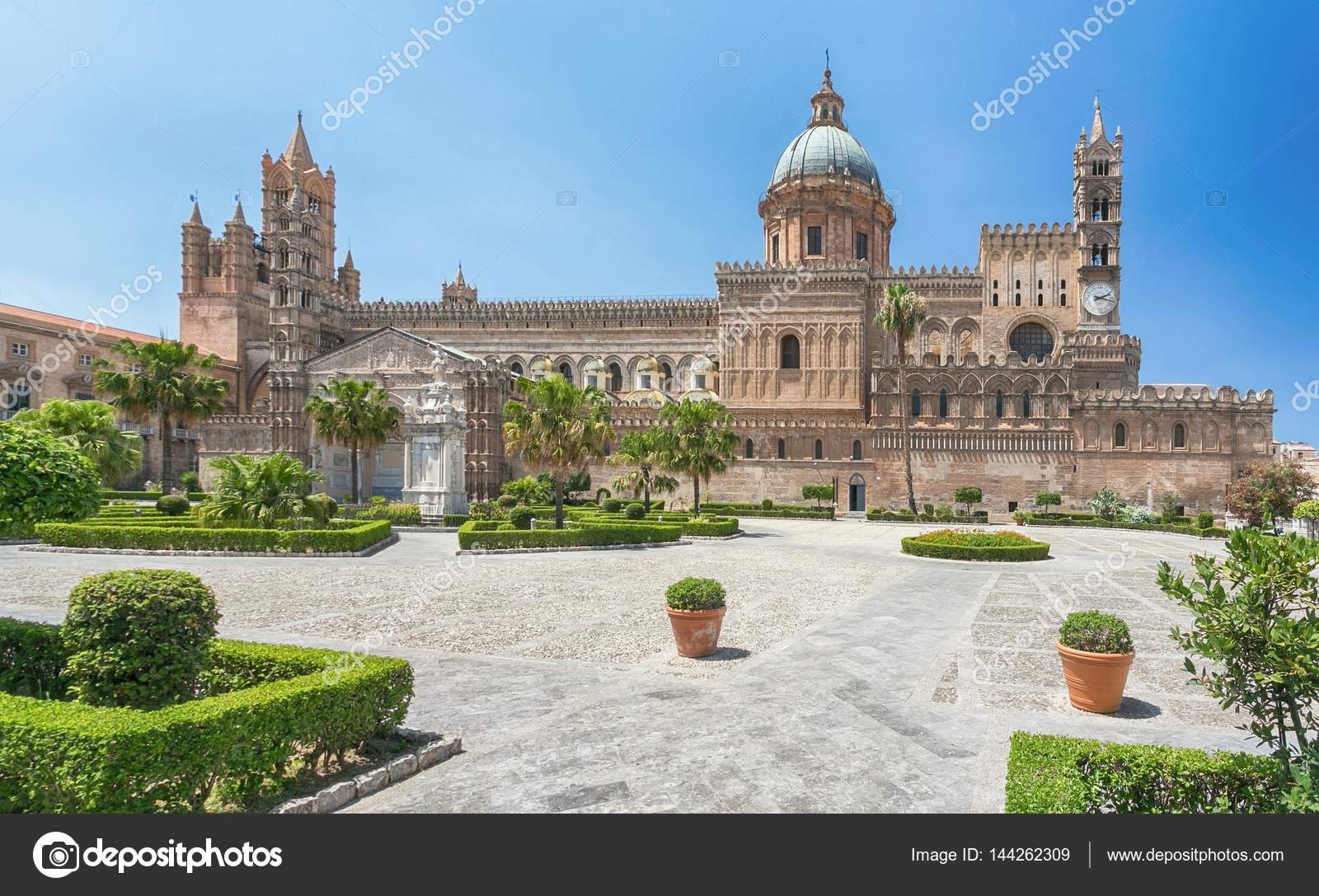 palermo cathedral metropolitan cathedral of the assumption of