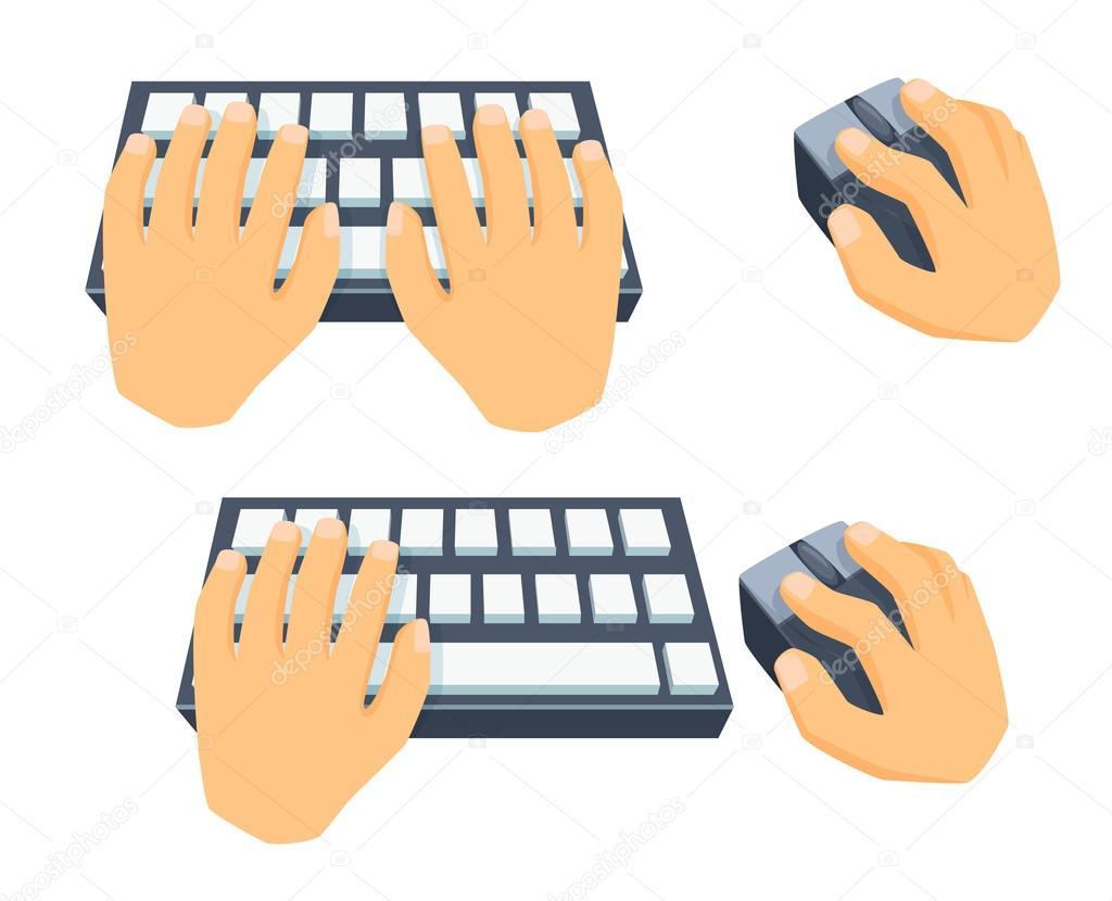 Teclados De Computadora Animados