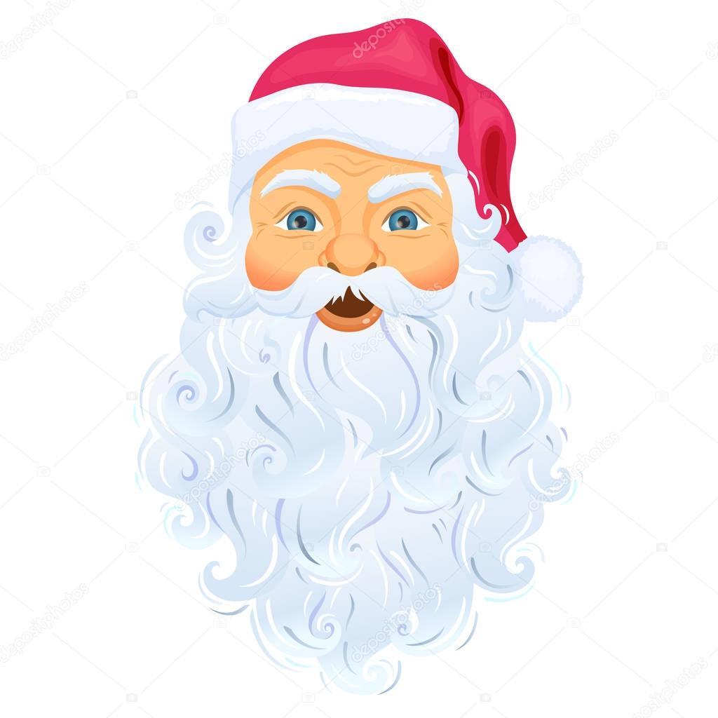 Immagini Viso Babbo Natale.Viso Di Babbo Natale Vettoriali Stock C Nordfox 129973996
