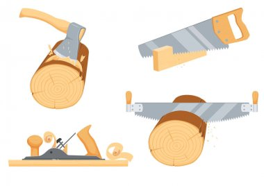 Joinery, woodcutter, lumberjack instruments