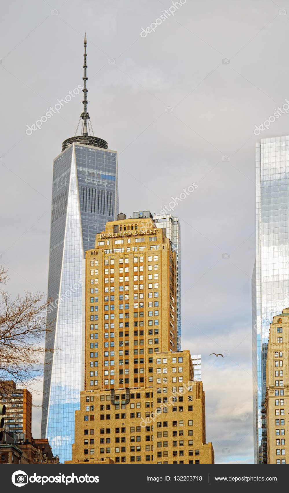 Freedom Tower New York Stockfoto C Mshch1 132203718