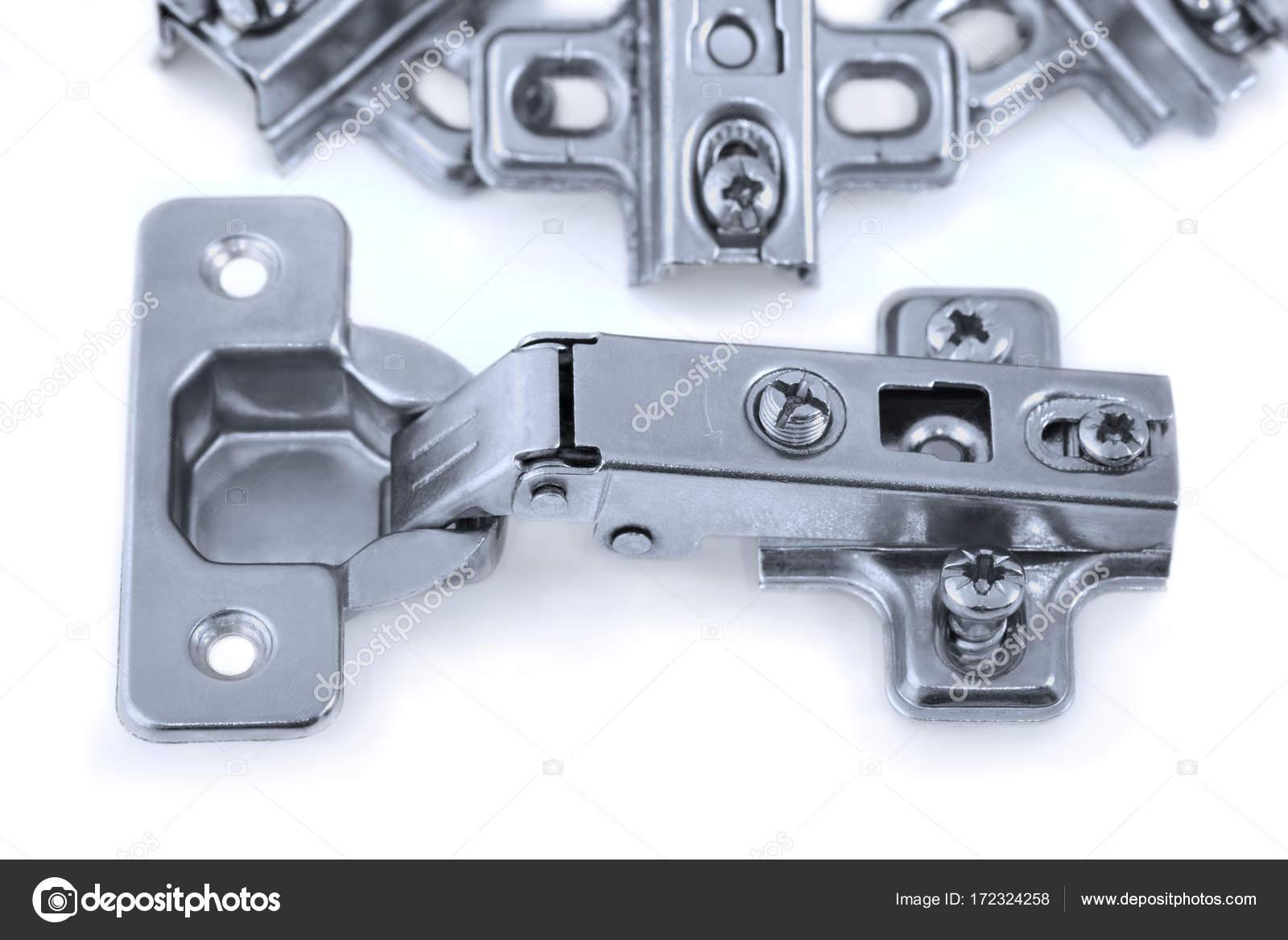 Möbel-Hardware-Scharnier, Scharniere Küchenschrank — Stockfoto ...