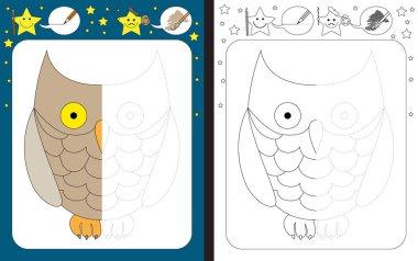 Preschool worksheet for kids