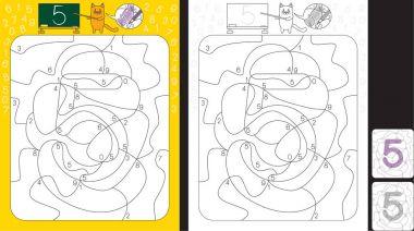 Illustrated seamless pattern