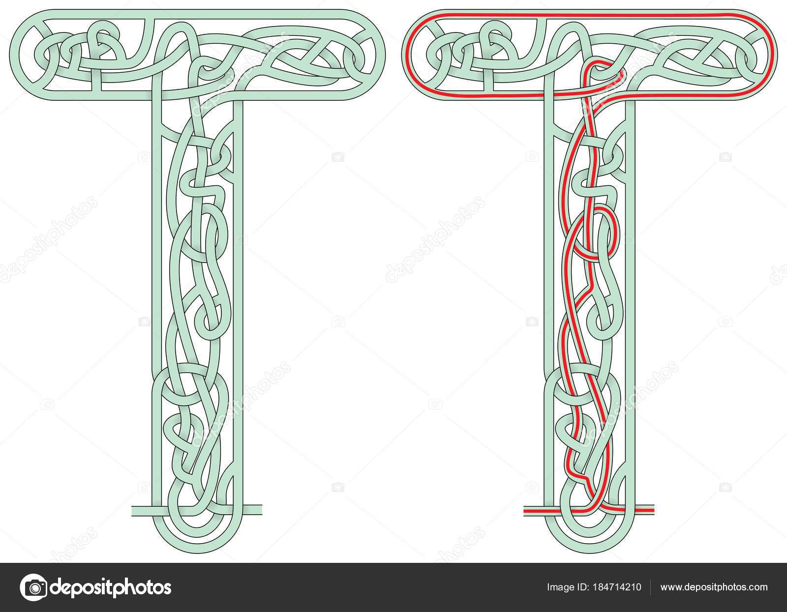 английский алфавит лабиринт