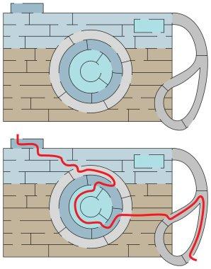 Easy camera maze
