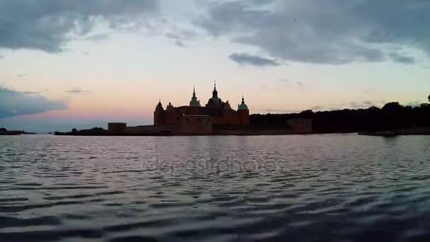Kalmar hrad v sunrise časová prodleva