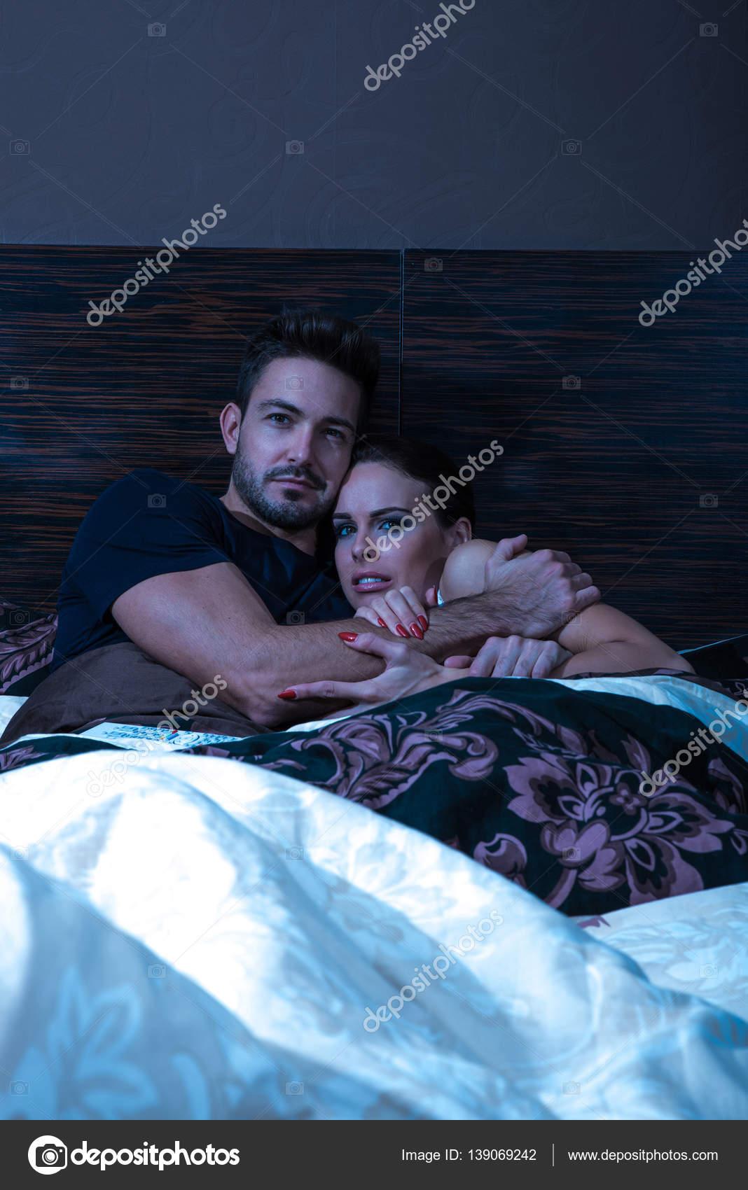 Очень красивая в постели — pic 10