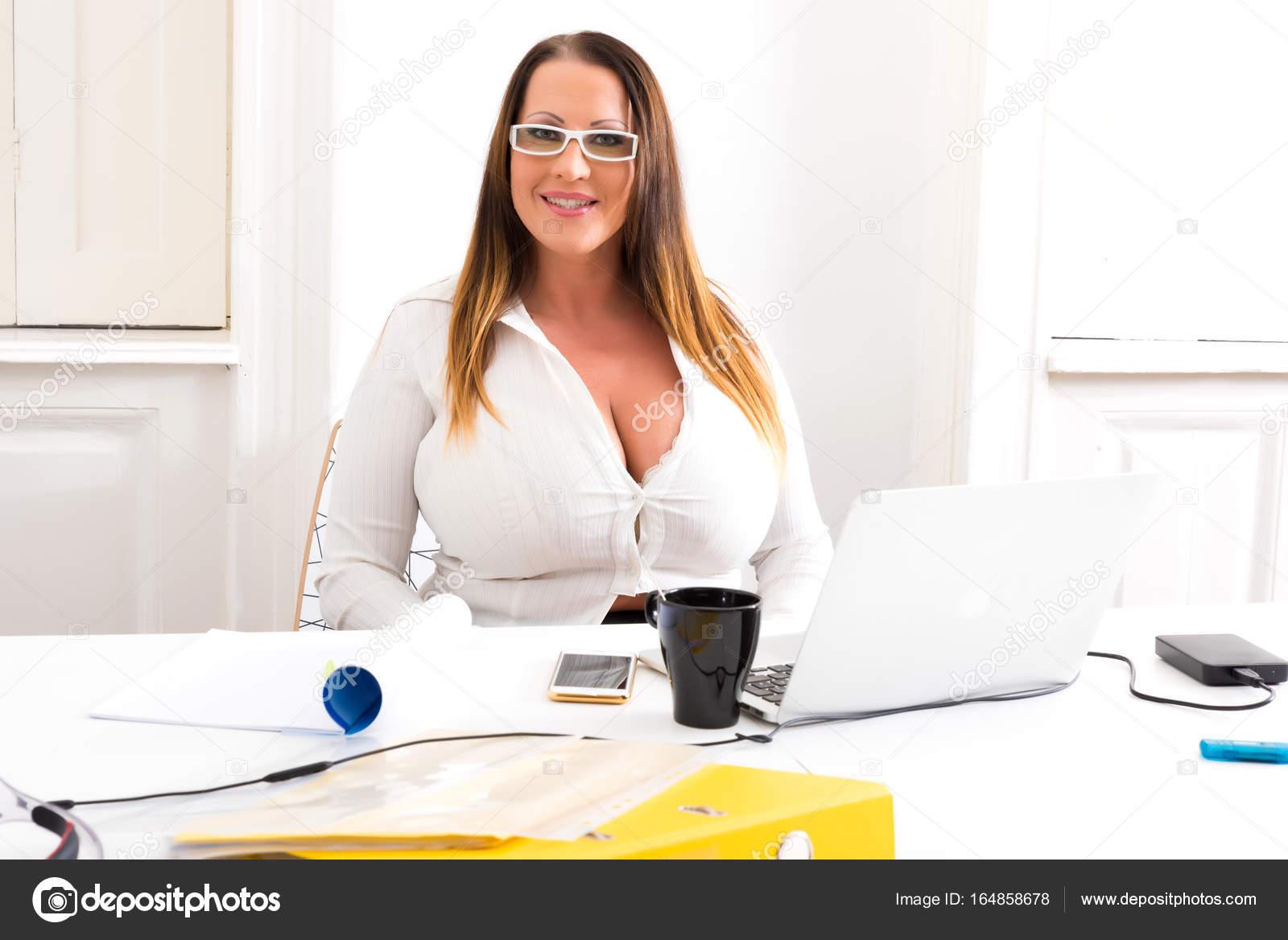 Curvy Secretary