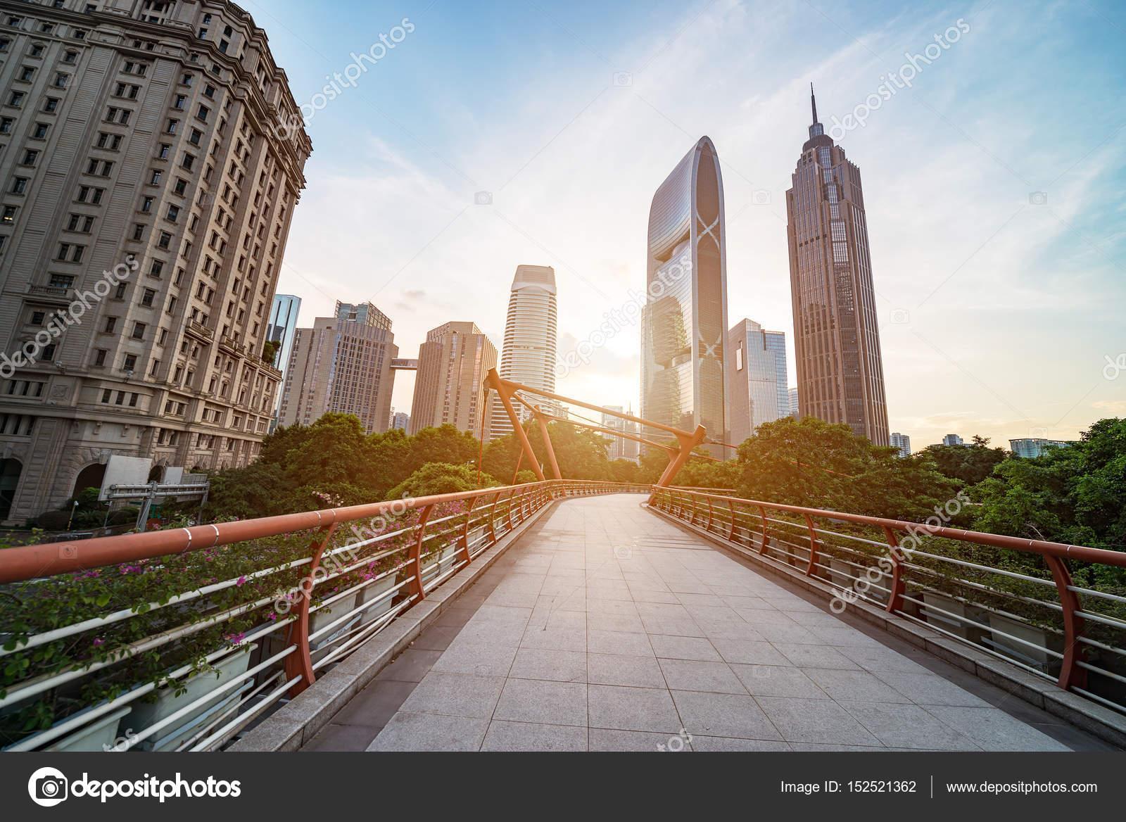 Modern architecture,Guangzhou China – Stock Editorial Photo