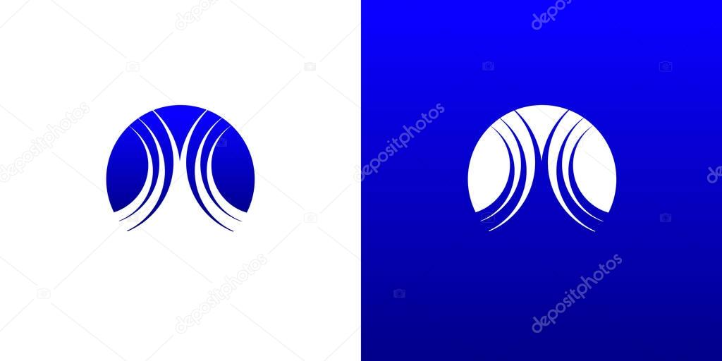 Wave Water Logo Symbol Template