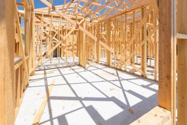 New Construction House Framing