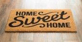 Fotografie Home Sweet Home Vítejte rohož na podlahu