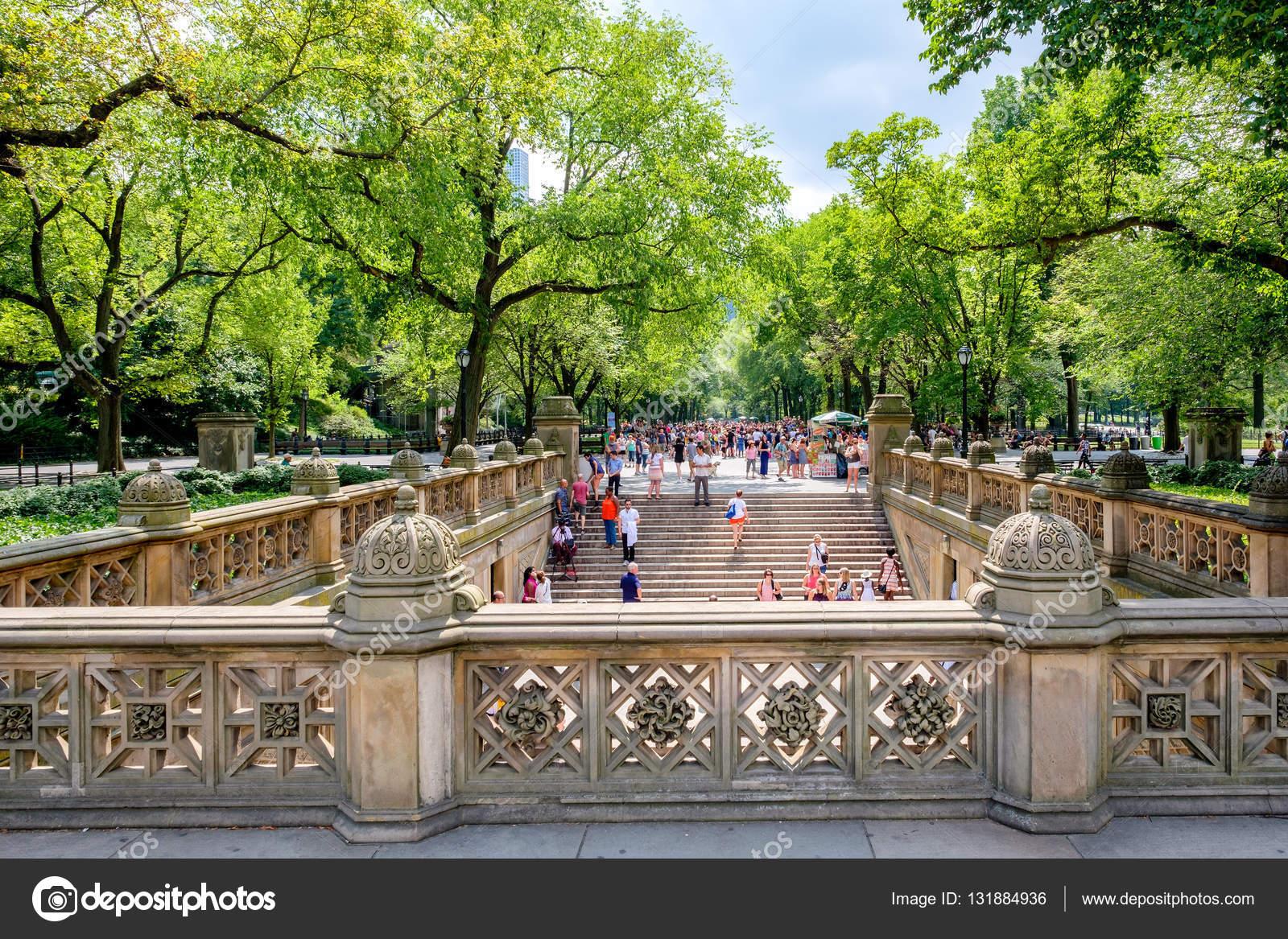 Vista Del Central Park Centro Comercial De Bethesda Terraza