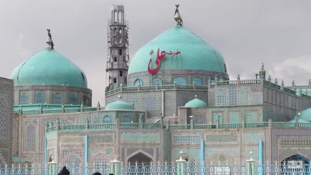 The Blue Mosque in Mazar-i-Sharif, North Afghanistan, in 2018